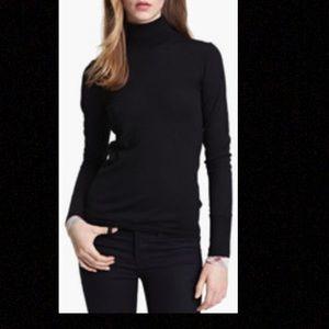 Burberry Brit Merino Wool Turtleneck Sweater.